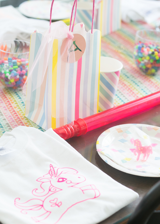 Unicorn party favor ideas