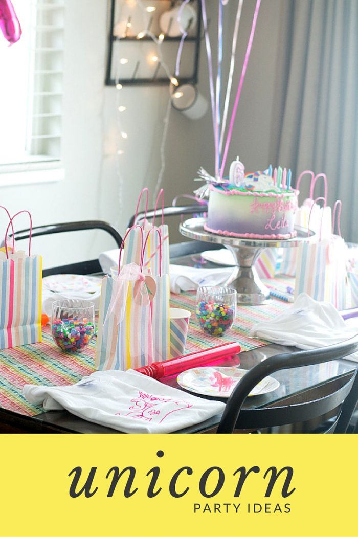 unicorn party ideas grahic