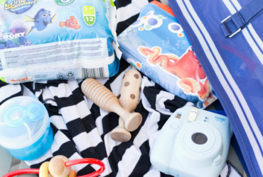 What to pack in your summer swim bag for a baby at the pool.