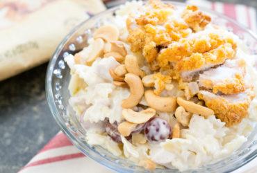 Chicken, Cashew and Grape Pasta Salad Recipe