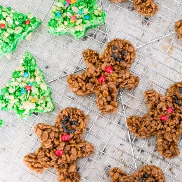 how to make the perfect holiday rice krispies treats