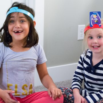 Create a fun family game night using Headbanz Electronic