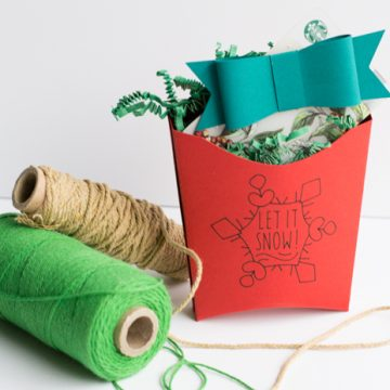 Last minute Christmas gift craft using your Cricut Explore Air 2