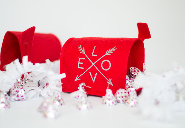 Create these DIY Valentine's Day Mailboxes. Such a fun and easy Valentine's craft.