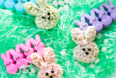 Peeps Rice Krispie Treats for a delicious Easter Dessert