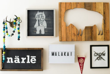 Create your own Farmhouse style baby nursery art with your Cricut Explore