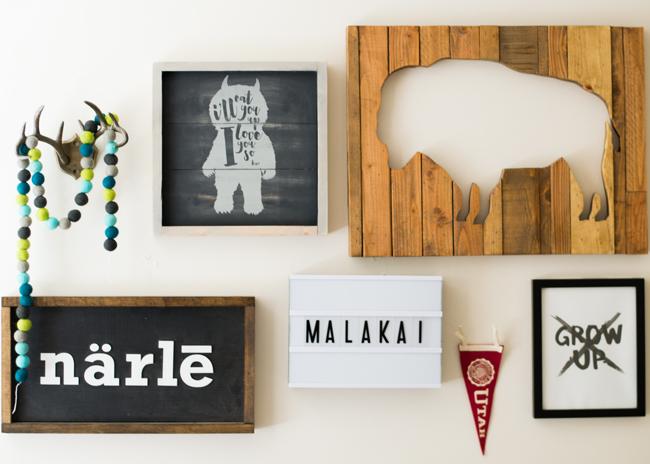 Create your own Farmhouse style baby nursery art with your Cricut Explore