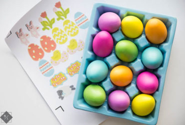 Personalize Easter Eggs using your Cricut Explore