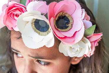 Make a floral crown with your Cricut Explore