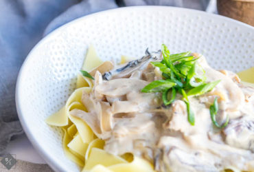 The Best Vegetarian Mushroom Stroganoff Recipe