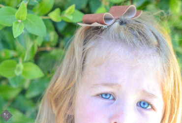Make your own Leather Bow using your Cricut Explore