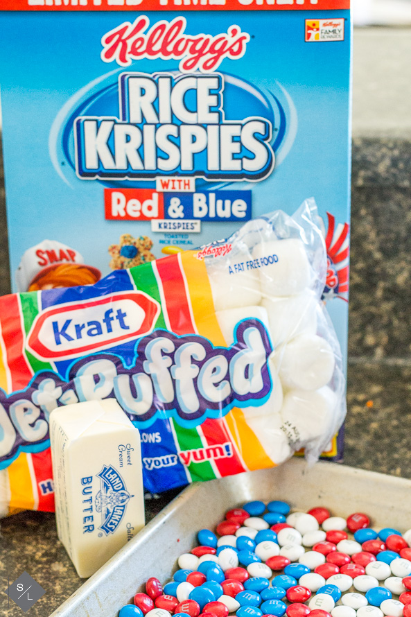 Fourth of July Rice Krispie Treats Recipe