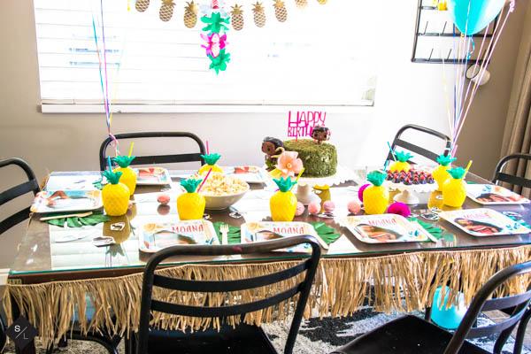 Throw a Moana Birthday Party