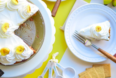 Banana Cream Pie Recipe with World Market