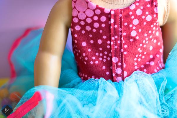 DIY American Girl Doll Birthday Dress using your Cricut