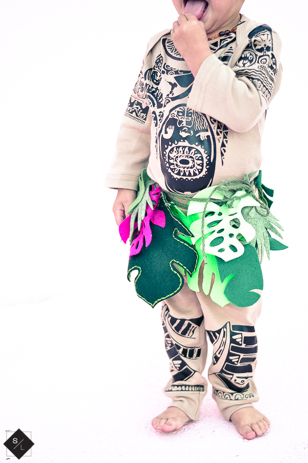 Create this Maui Halloween Costume using your Cricut Maker and Cricut EasyPress