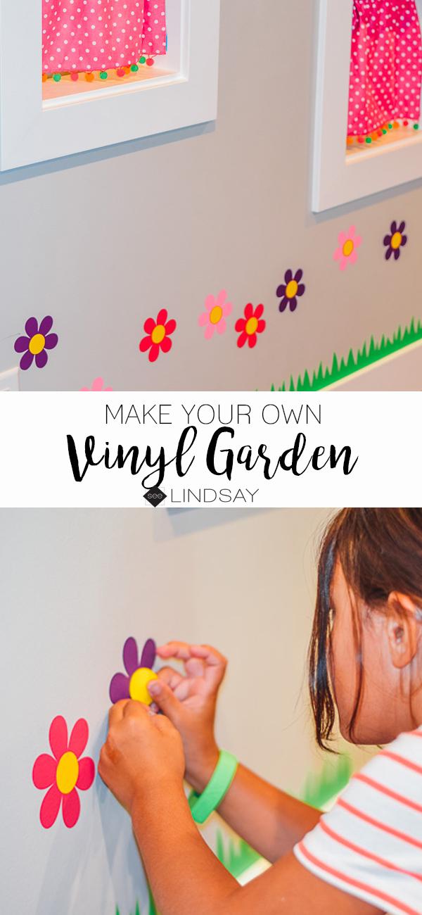 Indoor vinyl garden
