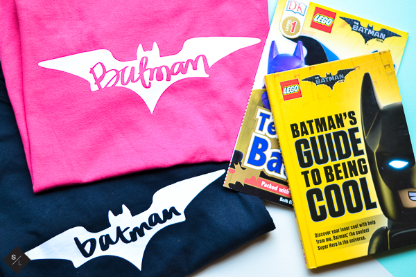 DIY LEGO Batman Shirt with your Cricut Explore and Glow in the Dark Iron-On