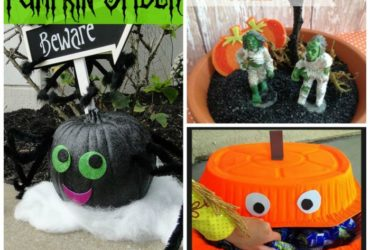 20 Easy Halloween Craft Projects – Round Up