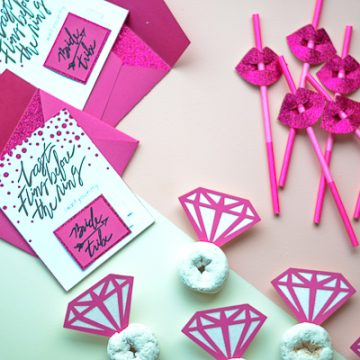 Use the Cricut Maker free projects to create a Bachelorette Party