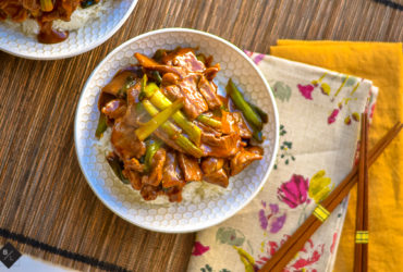 Easy Mongolian Beef with Rice Recipe