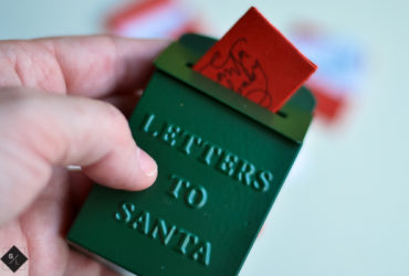 Mini Santa Letters with your Cricut Maker