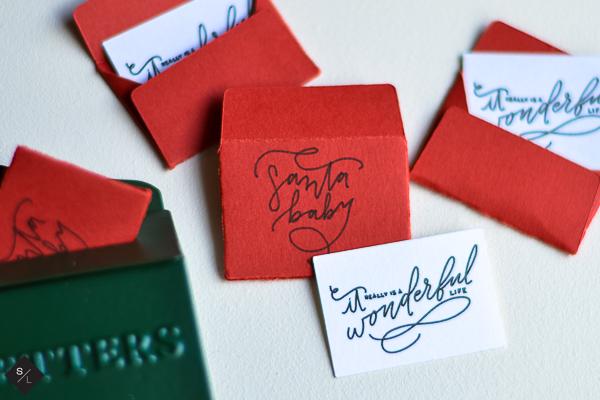 mini santa letters