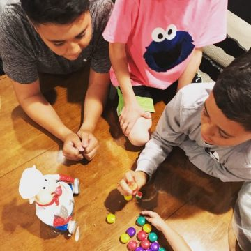 Family Game Night ideas and how to keep children entertained.