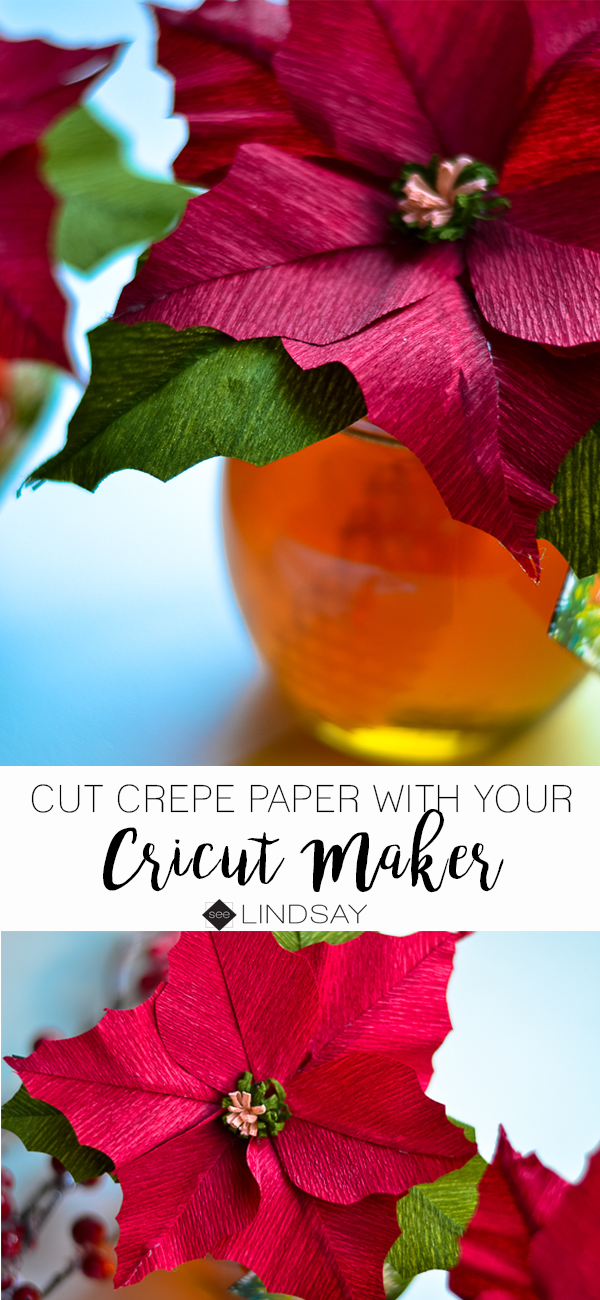 How To Cut Crepe Paper With The Cricut Maker Seelindsay