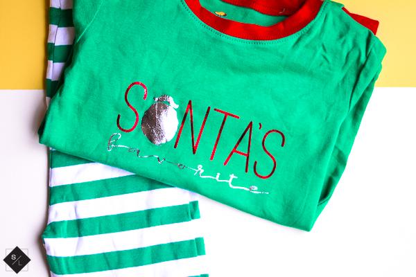 DIY Christmas Pajamas with Cricut EasyPress