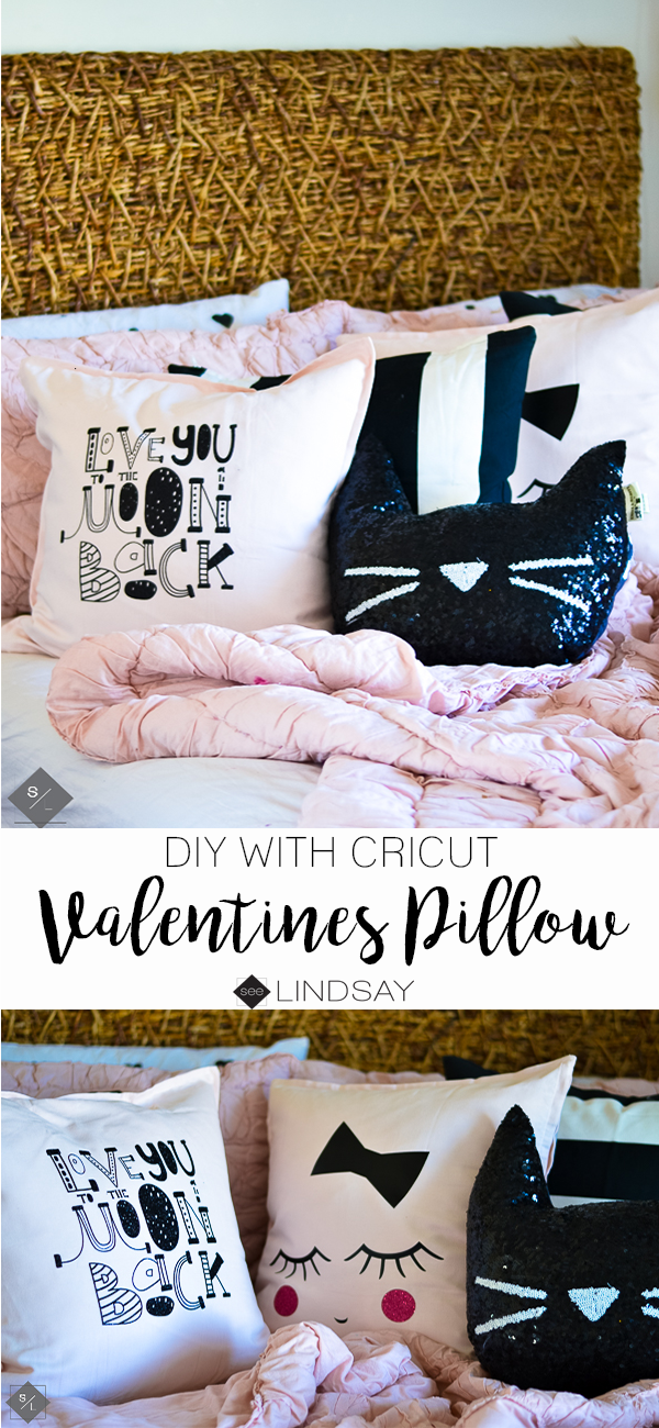 DIY Valentine Pillow decorations you can make