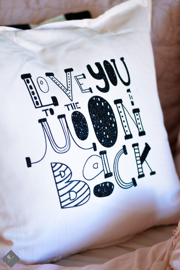 Love you to the moon and back SVG file
