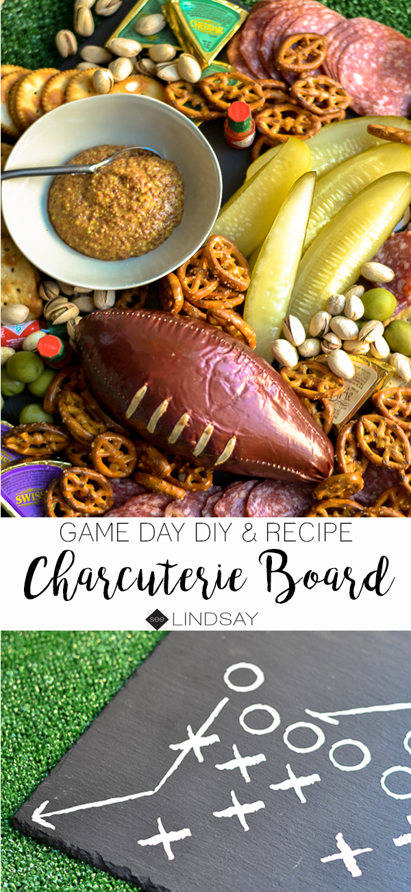 Superbowl Charcuterie Board