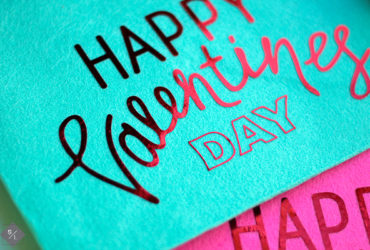 Personalized Valentine Felt Envelopes with your Cricut