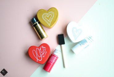 DIY Ceramic Conversation Hearts to Hold All Your Trinkets