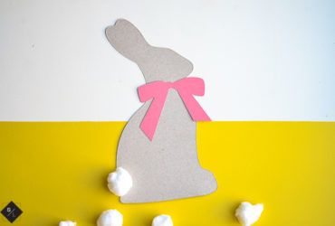 Easy Easter Bunny Craft with Cricut