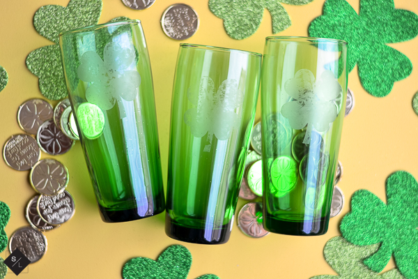 Personalized St Patricks Day Dollar Store Cups