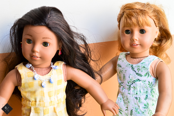 DIY American Girl Doll Jumpsuit using Natalie Malan Fabrics