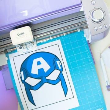 Create these awesome DIY Avenger Masks using your Cricut Wisteria, available exclusively at JOANN stores. #ad #CricutWisteria #CricutMade