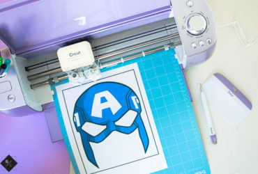 DIY Avenger Masks using the new Cricut Wisteria Explore Air 2