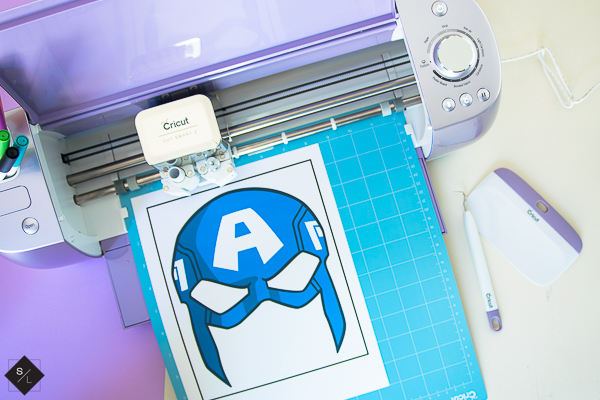 DIY Avenger Masks using the new Cricut Wisteria Explore Air 2