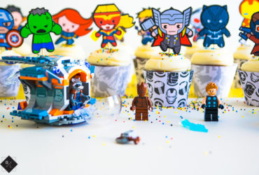 DIY Avengers Cupcake Picks