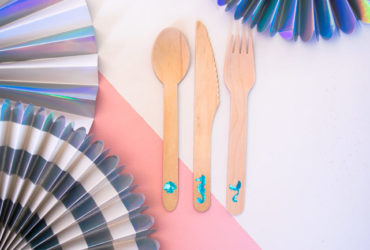 Mermaid Party Cutlery with your Cricut