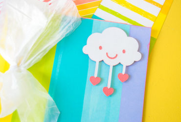 Make a Rainbow Book using Cricut and Lawn Fawn