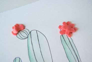 Make Handmade Cactus Watercolour Prints