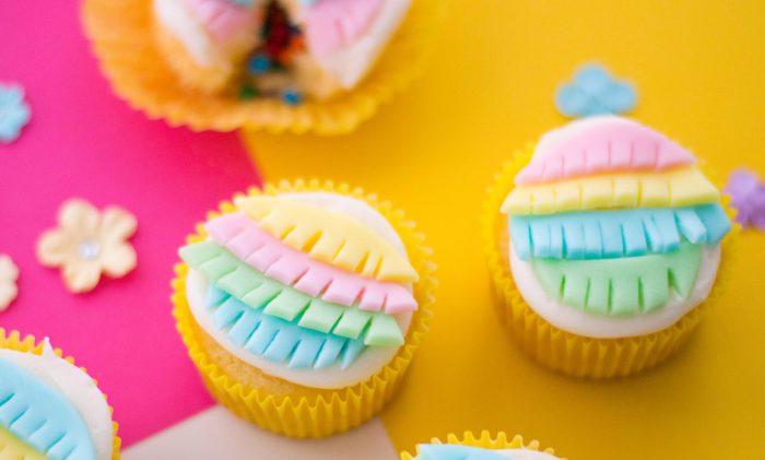 Homemade Perfect Piñata Cupcakes for a Fiesta