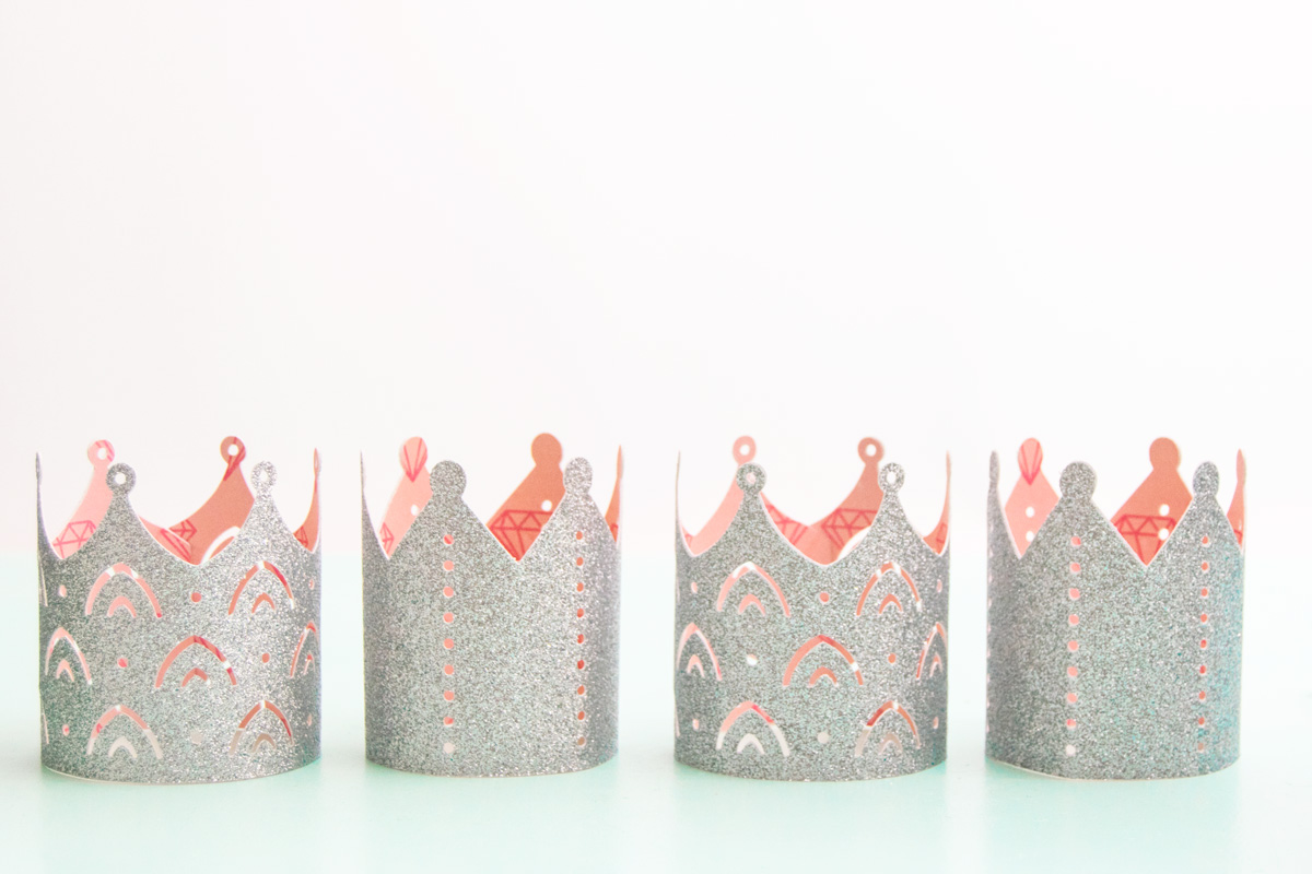 How to Make DIY Princess Crowns out of Paper