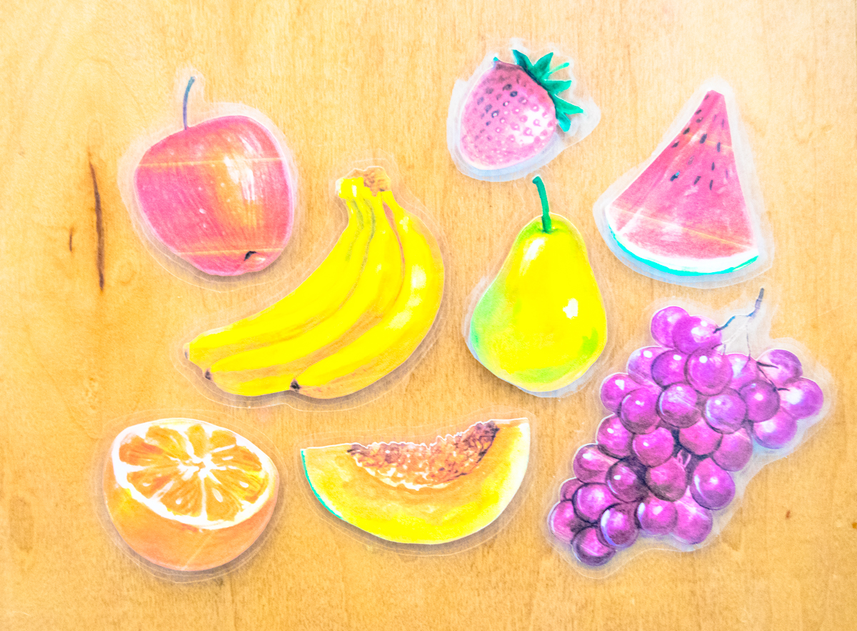 laminated fruit pictures