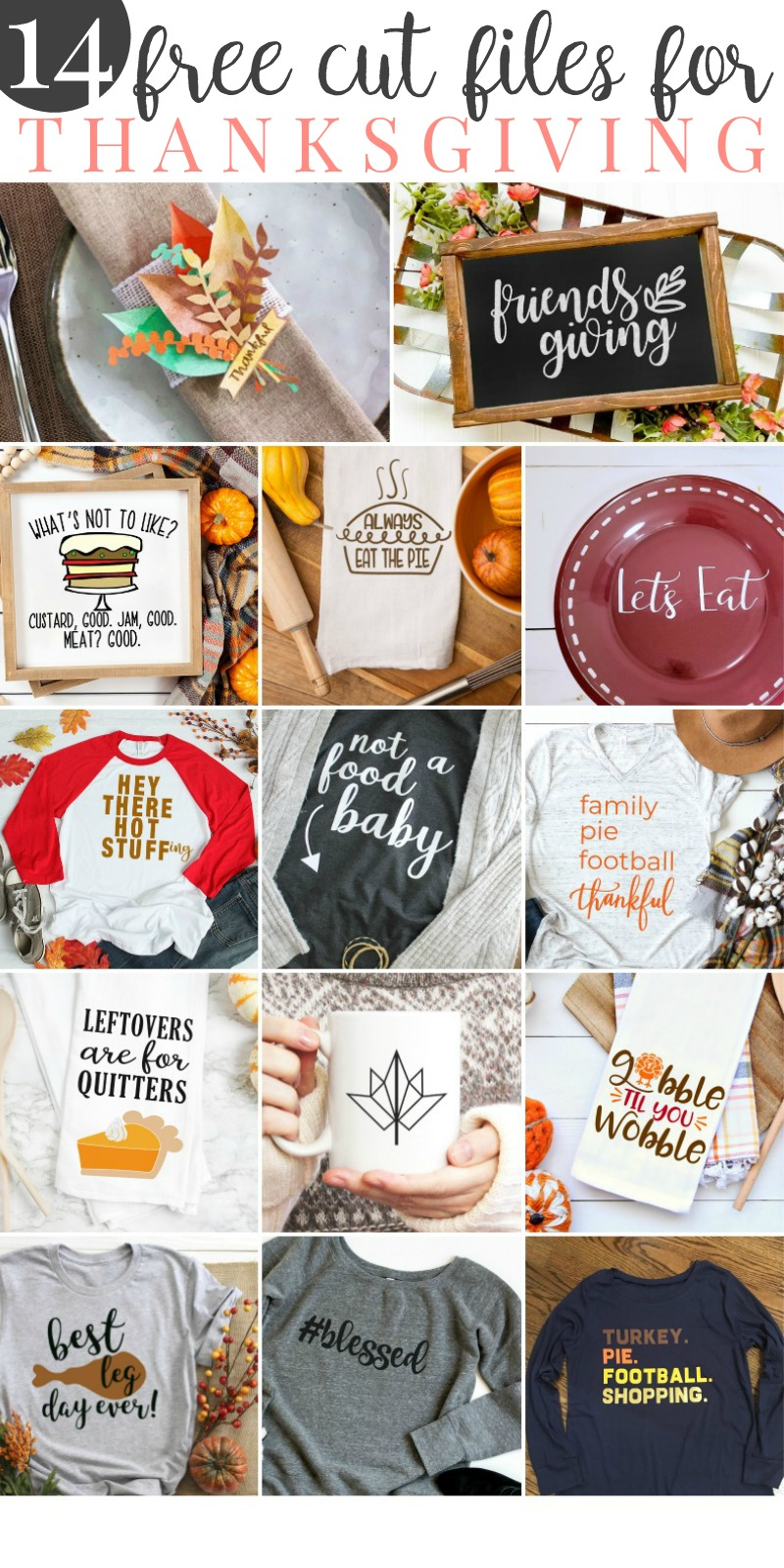 Fall svg projects