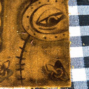 hocus pocus spellbook doormat